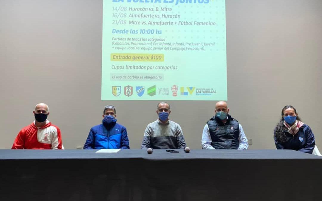 """""""LA VUELTA ES JUNTOS"""" – Encuentro participativo de fútbol"""