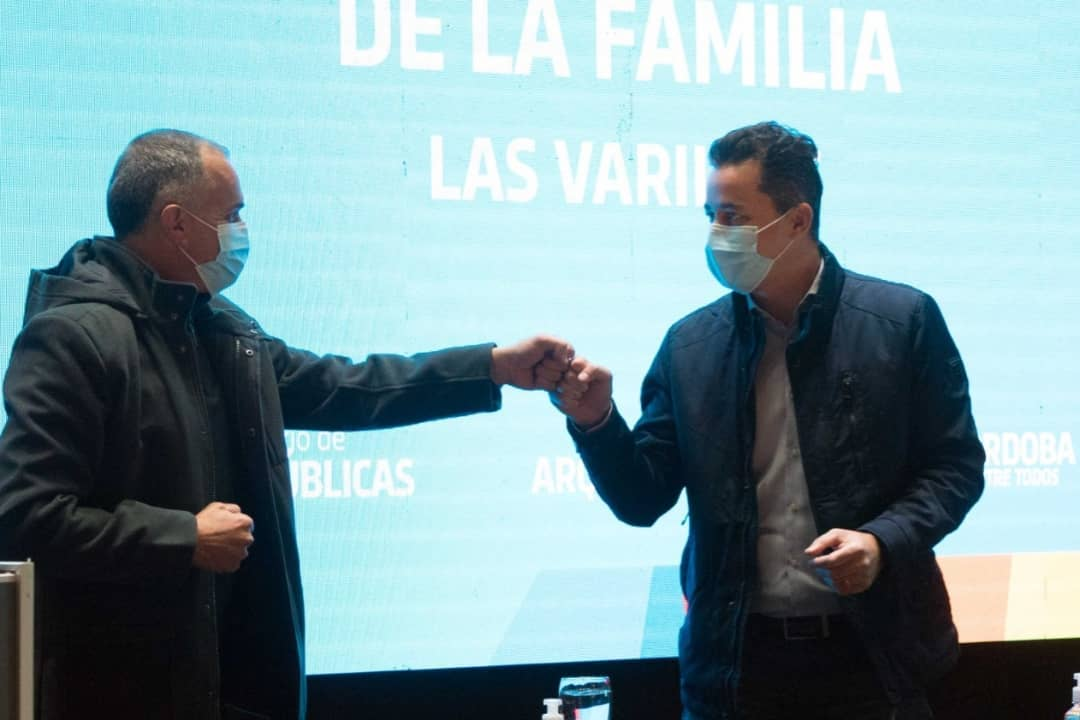 RECIBIMOS AL VICEGOBERNADOR MANUEL CALVO