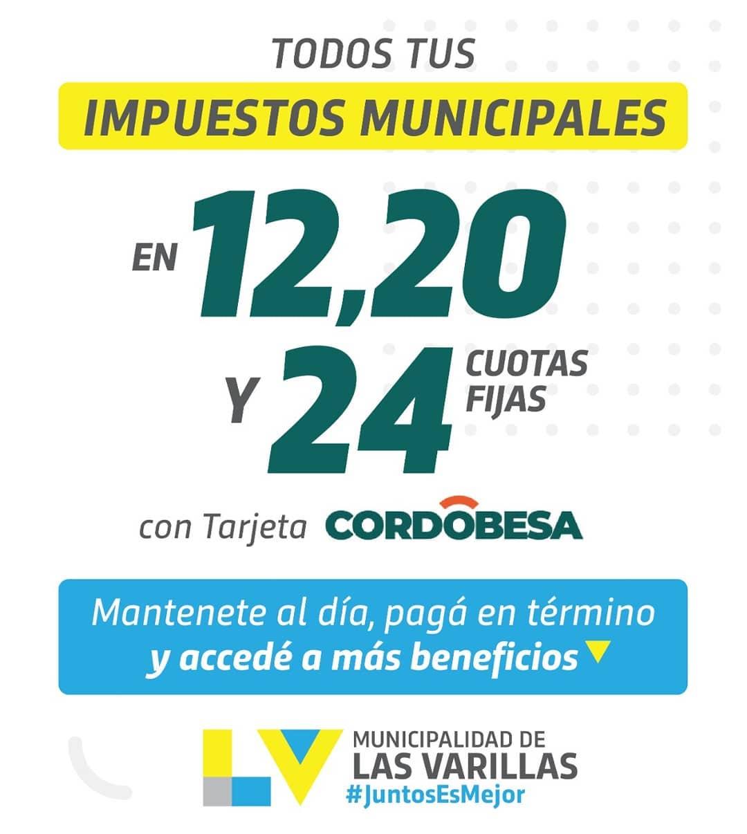 TUS IMPUESTOS MUNICIPALES EN 24 CUOTAS FIJAS
