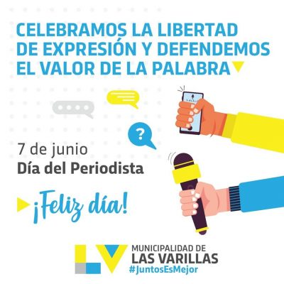 🗓️ 7 de junio | #DiaDelPeriodista