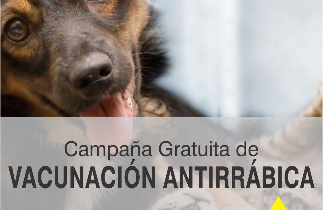 CAMPAÑA DE VACUNACIÓN GRATUITA CONTRA LA RABIA