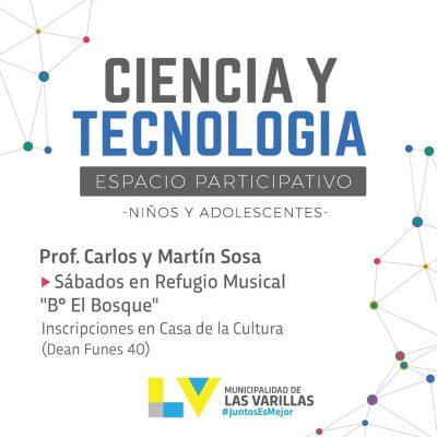 ESPACIO PARTICIPATIVO DE CIENCIA Y TECNOLOGÍA