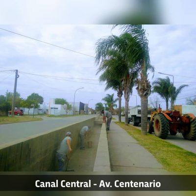 CULMINAMOS CON LA LIMPIEZA DE TODOS LOS CANALES DE LA CIUDAD