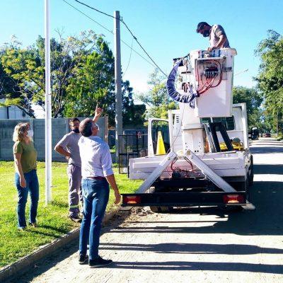 Nueva luminaria led para el Barrio Juan XXIII